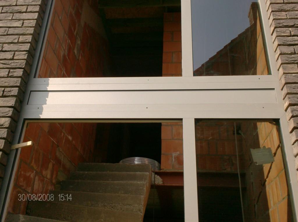 Aluminium ramen en deuren nieuwbouw