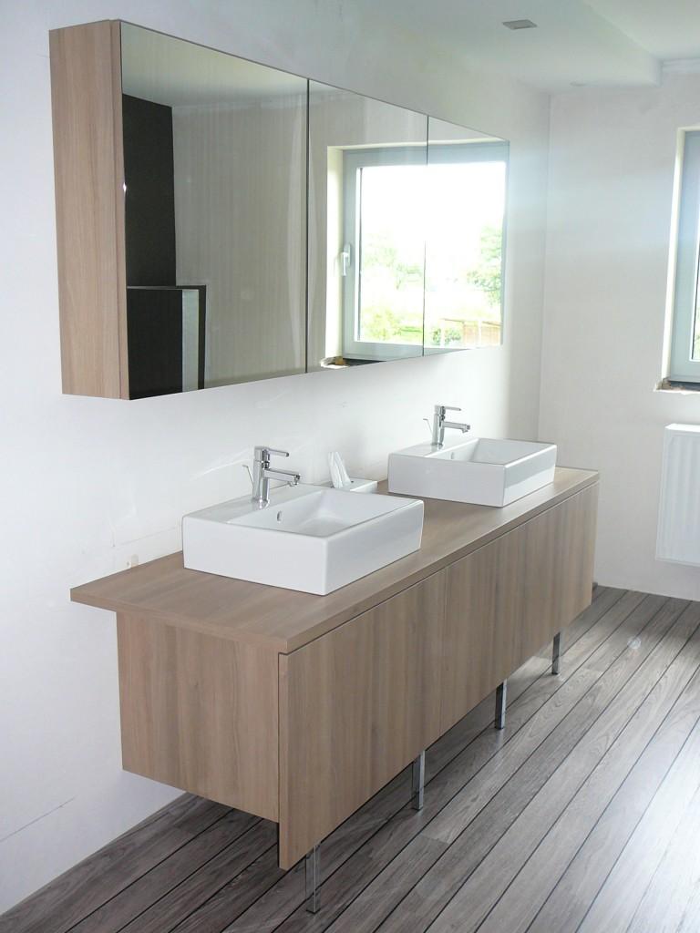 badkamermeubel met opbouw wastafel - veha interieur - Weie Badmbel